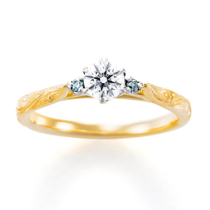 婚約指輪 ME-9・WHALETAIL