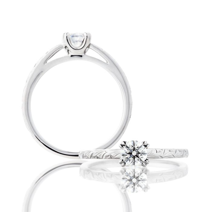 婚約指輪 ME-10・CORAL